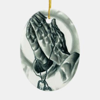 Ornamento De Cerâmica Salmo 91