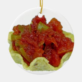 Ornamento De Cerâmica Salsa caseiro