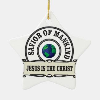 Ornamento De Cerâmica salvador do mundo