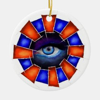 Ornamento De Cerâmica Salvenitus - olho de observação