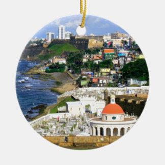 Ornamento De Cerâmica San Juan Puerto Rico