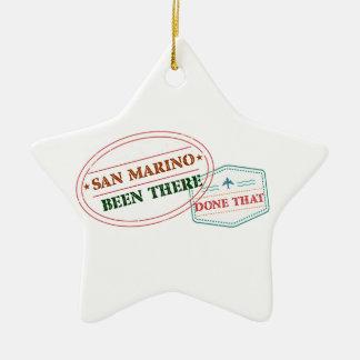 Ornamento De Cerâmica San Marino feito lá isso