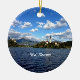 Ornamento De Cerâmica Sangrado, Slovenia--fotografia da paisagem