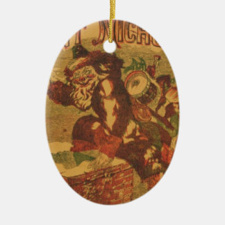 Ornamento De Cerâmica Santa_Claus_Cover_Art