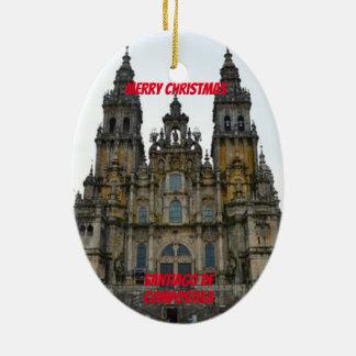Ornamento De Cerâmica Santiago de Compostela