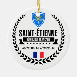 Ornamento De Cerâmica Santo-Étienne