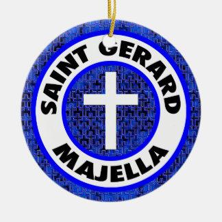 Ornamento De Cerâmica Santo Gerard Majella