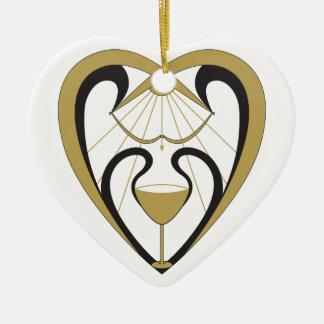 Ornamento De Cerâmica Santo Graal