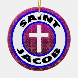 Ornamento De Cerâmica Santo Jacob