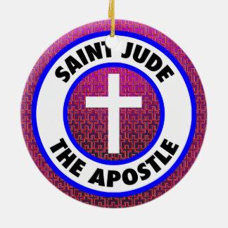 Ornamento De Cerâmica Santo Jude o apóstolo