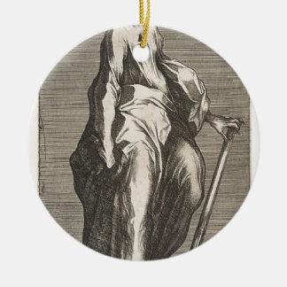 Ornamento De Cerâmica Santo Jude (ou santo Matthias)