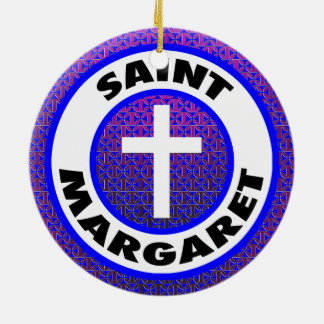 Ornamento De Cerâmica Santo Margaret