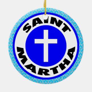 Ornamento De Cerâmica Santo Martha