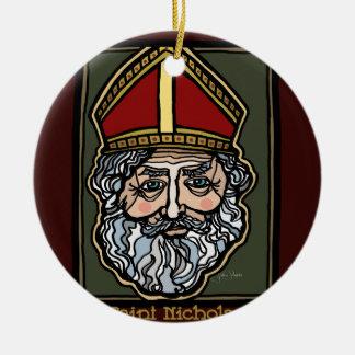 Ornamento De Cerâmica Santo Nicholas