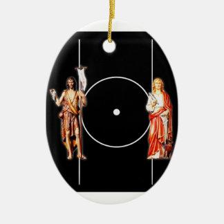 Ornamento De Cerâmica Santo santamente Johns