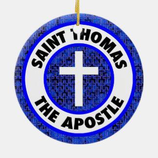Ornamento De Cerâmica Santo Thomas o apóstolo