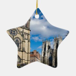 Ornamento De Cerâmica Santo Wilfrids e Minster. de York