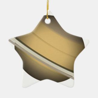 Ornamento De Cerâmica Saturn