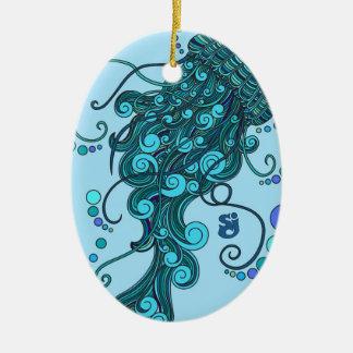 Ornamento De Cerâmica SCI - Medusa - incidente do queijo de corda -