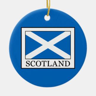 Ornamento De Cerâmica Scotland
