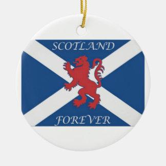 Ornamento De Cerâmica scotland_forever_lion_rampant_