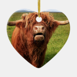 Ornamento De Cerâmica Scottish país de alto Cattle - Scotland