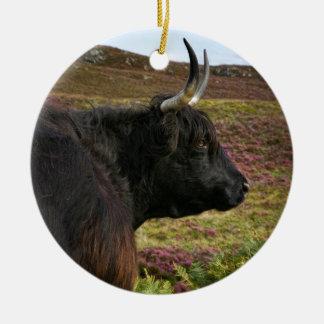 Ornamento De Cerâmica Scottish país de alto Cow - Scotland