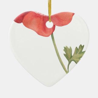 Ornamento De Cerâmica Se eu tive uma flor