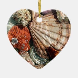 Ornamento De Cerâmica Seashells