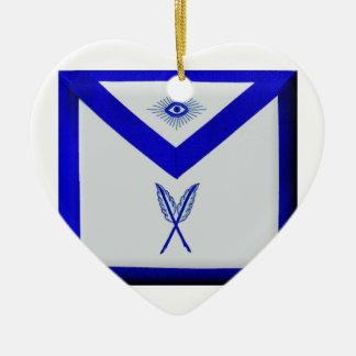 Ornamento De Cerâmica Secretário maçónico Avental