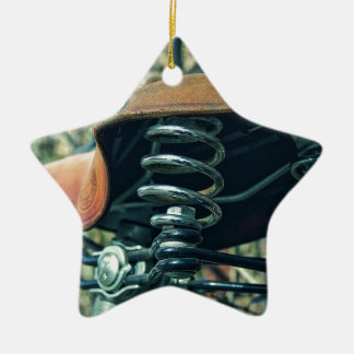 Ornamento De Cerâmica Sela da bicicleta