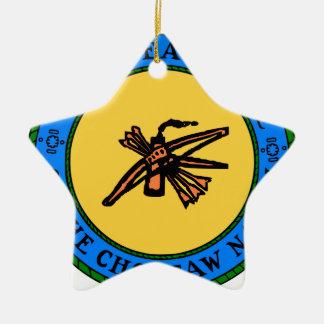 Ornamento De Cerâmica Selo do Choctaw