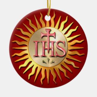 Ornamento De Cerâmica Selo do jesuíta