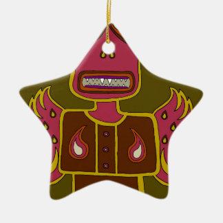 Ornamento De Cerâmica Selva Ifrit