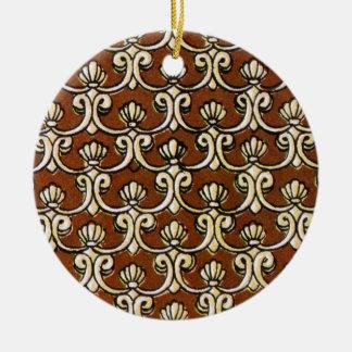 Ornamento De Cerâmica semanggi 03 do batik