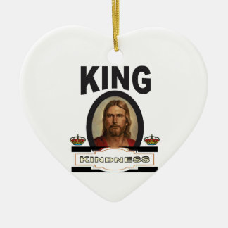 Ornamento De Cerâmica senhor da bondade do rei