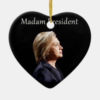 Ornamento De Cerâmica Senhora presidente estilo 2