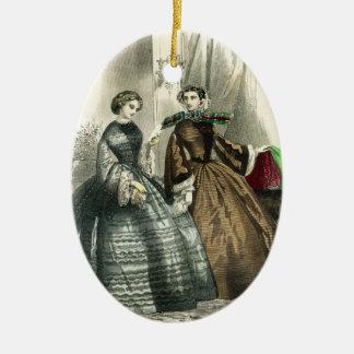 Ornamento De Cerâmica Senhoras extravagantes das mulheres da guerra