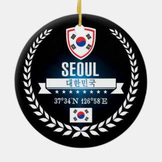Ornamento De Cerâmica Seoul