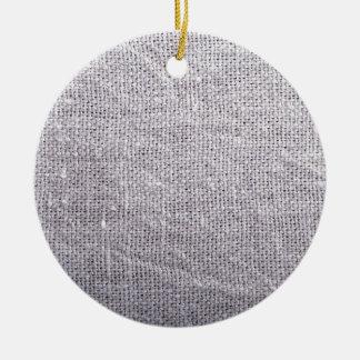 Ornamento De Cerâmica Serapilheira cinzenta do fundo do tecido