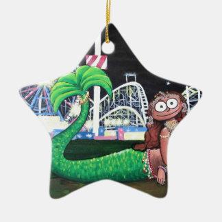 Ornamento De Cerâmica Sereia de Coney Island