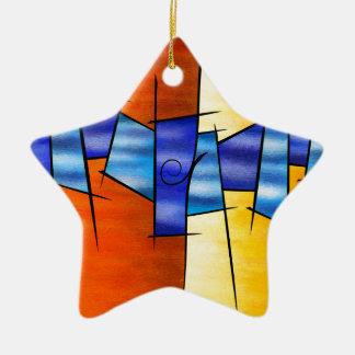 Ornamento De Cerâmica Seria Caloni V1 - o presente