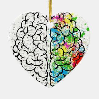 Ornamento De Cerâmica série do cérebro