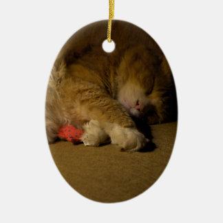 Ornamento De Cerâmica Sesta do gato