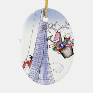 Ornamento De Cerâmica ShardArt Heave-Ho por Tony Fernandes
