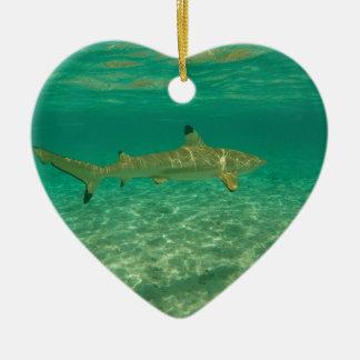 Ornamento De Cerâmica Shark in bora bora