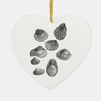 Ornamento De Cerâmica Shell esboça