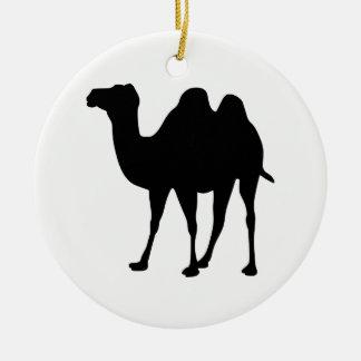 Ornamento De Cerâmica Silhueta do camelo