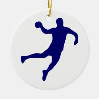 Ornamento De Cerâmica Silhueta do handball