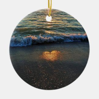 Ornamento De Cerâmica Sim, o oceano sabe